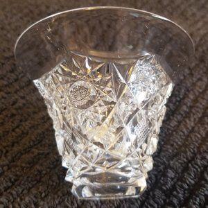 Vintage Small Vase/Ring Holder Cut Glass